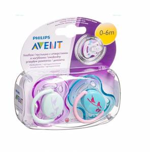 Philips AVENT Freeflow 2'li Emzik 0-6AY ( KIZ ) SCF172/68