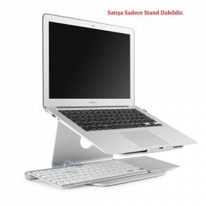 Apple MacBook NoteBook Laptop Metal Stand Rain Design mStand Gümüş