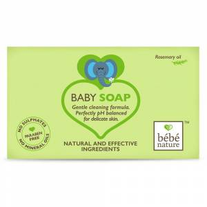 Bebe Nature 100% Baby Soap With Rosemary Oil 100 ML