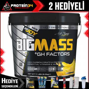 BigJoy BigMass GH Factors Karbonhidrat Tozu 5000 Gr Gainer