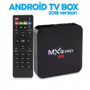 MXQ PRO 4K İnternet TV BOX Amlogic S905X Android TV Bluetooth