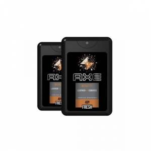 axe leather And Cookies Cep Parfümü Edt 17 ml 2 adet