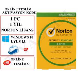 NORTON İNTERNET SECURİTY 2019 1 PC 1 YIL LİSANS
