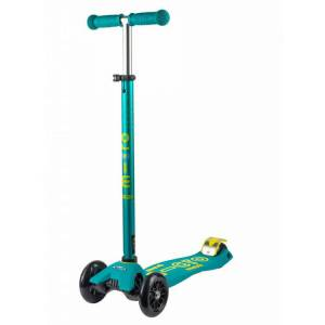 Micro Maxi Deluxe Scooter Petrol Green