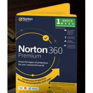 Norton 360 Premium 2020 + Norton Mobile Security 2020