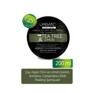 URBAN Care  EXPERT Tea Tree & Lemon Peeling Shampoo  200 ml