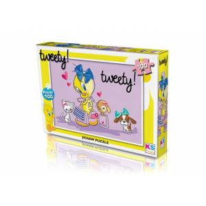 Ks Games Tweety Puzzle 100'lü - TW714
