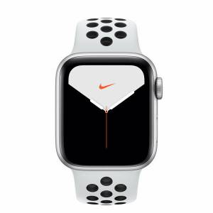 Apple Watch Nike Series 5 40MM Silver Aluminium Case With Pure Platinum/Black Nike Sport Band