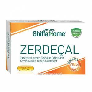 Aksu Vital Shiffa Home Zerdeçal 30 Soft Gel