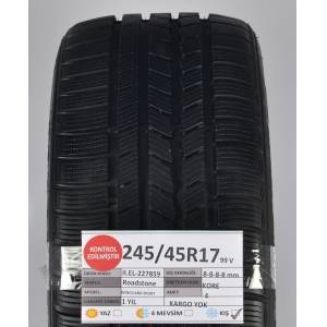 Roadstone 245/45R17 99V 8-8-8-8 mm WinguardSport 2.El Kış Lastiği