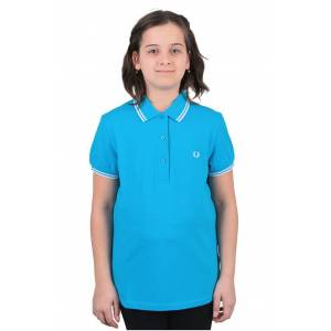 Fred Perry Twin Tipped Polo T-shirt Mavi (G9762-F150) 38