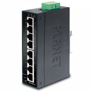 PL-IGS-801T Endüstriyel Tip Yönetilemeyen Switch Industrial Unmanaged Switchbr8-Port 101001000Mbps