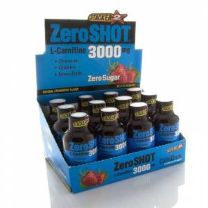Zeroshot Zero Shot 60 mL 3000Mg L-Carnitine 12 Adet ÇİLEK