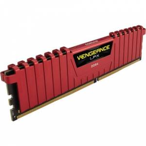 CORSAIR VENGEANCE KIRMIZI DDR4-2400MHZ CL16 8GB (1X8GB) SINGLE (16-16-16-39) CMK8GX4M1A2400C16R