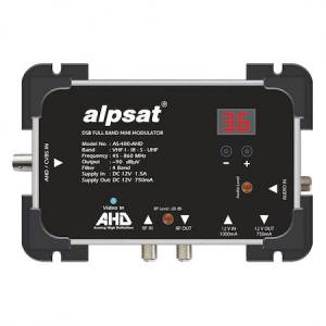 ALPSAT AS400AHD DSB FULL BAND MİNİ MODÜLATÖR