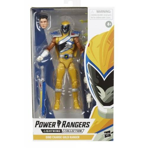 Hasbro Power Rangers Dino Charge Gold Ranger