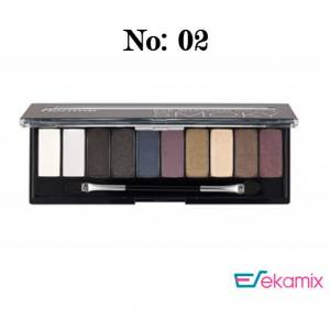 Flormar Smoky Eyeshadow Palette Far 02 - 10 Gr.