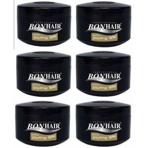 Bonhair Styling Wax 140ml Vax 6 adet Vaks