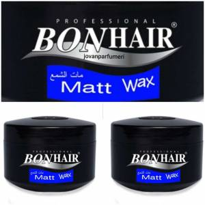 Bonhair Matt Wax 140ml Vax 2 adet Vaks