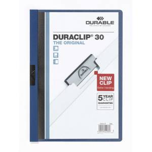 Durable Duraclip Original 30 Sf. Kapasiteli - Lacivert 2200-L  Durable