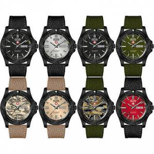 Swiss Military Watch Desert Storm Askeri Taktik Saat