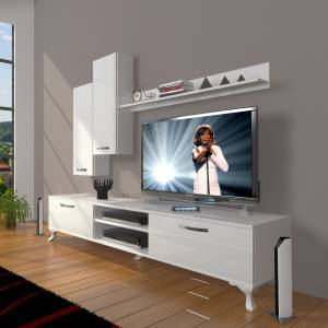 DECORAKTİV EKO 7 MDF DVD RUSTİK TV ÜNİTESİ TV SEHPASI 8682109201568