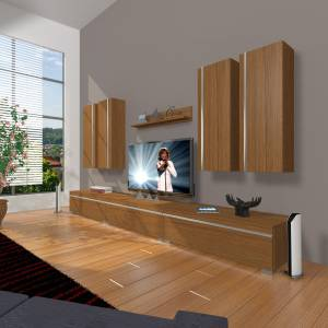 DECORAKTİV EKO 8D MDF TV ÜNİTESİ TV SEHPASI TV UNİTESİ 18682109202227