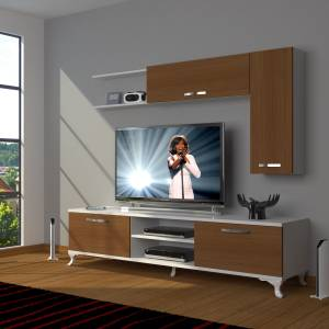 DECORAKTİV EKO 5L MDF DVD RUSTİK TV ÜNİTESİ TV SEHPASI TV UNİTESİ 18682109201428
