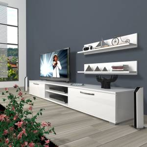 DECORAKTİV EKO 4 MDF DVD TV ÜNİTESİ +2 RAF 8682109200646
