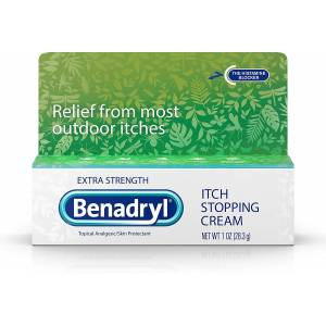 Benadryl Extra Strenght itch stopping cream 28g