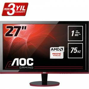 AOC G2778VQ 27 inc 75 Hz 1ms HDMI FreeSync Full HD Oyuncu(Ölü Pixel)