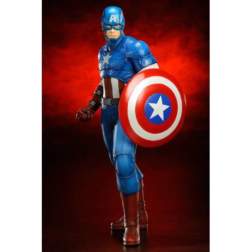 Kotobukiya - CAPTAİN AMERİCA - MARVEL NOW FİGÜR