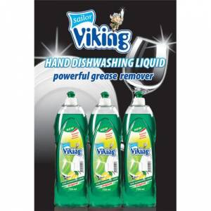 Viking Bulasik Deterjani Limon 750 Ml 3 Adet