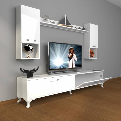 DECORAKTİV EKO 5DA MDF STD RUSTİK TV ÜNİTESİ TV SEHPASI TV UNİTESİ 18682109201305