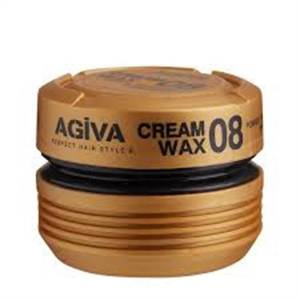 Agiva Hair Cream Wax 08 Medium Control and Shine