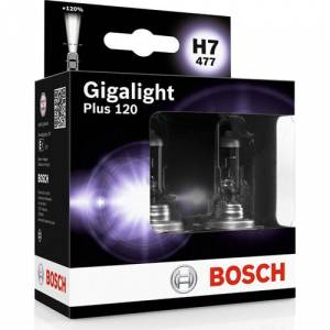 BOSCH H7 GİGALİGHT PLUS 120 1987301107 2 ADET