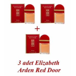 3 x Elizabeth Arden Red Door EDP 5 ml