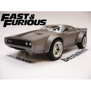 FAST AND FURIOUS DOM'S ICE CHARGER bestelhobi