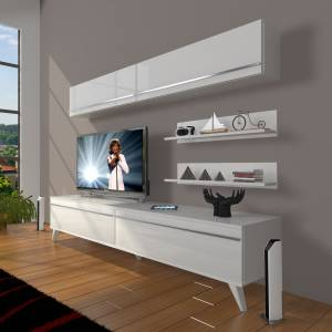 Decoraktiv Eko 5 MDF STD Retro TV Ünitesi TV Sehpası Tv Sehpasi Tv Unitesi 8682109200820