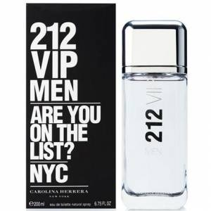 Carolina Herrera 212 Vip Men Edt 200 Ml
