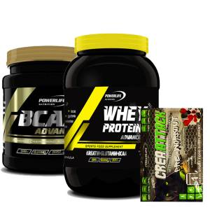 Powerlife Whey Protein Advance 900 gr & Bcaa Advance 4.1.1 360 gr + CreaAttack Hediyeli