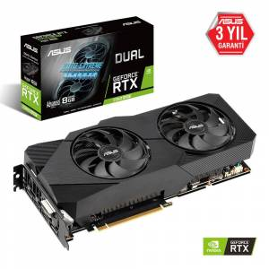 Asus DUAL-RTX2060S-A8G-EVO-V2 GeForce RTX2060 SUPER Advanced 8GB GDDR6 256Bit 16x Ekran Kartı