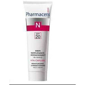Pharmaceris VitaCapilaril SPF20 Moisturising Strengthening Face Cream 50 ml