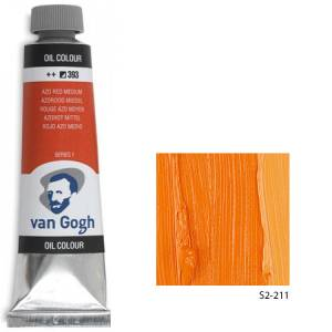 Talens Van Gogh Yağlı Boya 40ml - Cadmium Orange 211