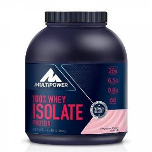 + 8 HEDİYE - Multipower %100 Whey Isolate Protein 2000 Gr (( Made in Germany ))