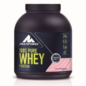 + 8 Hediye - Multipower %100 Pure Whey Protein 2000 Gr (( Made in Germany ))