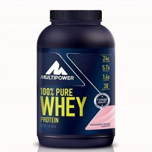 + 5 HEDİYE - Multipower %100 Pure Whey Protein 900 Gr (( Made in Germany ))