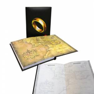 Lord of the Rings Notebook with Light Defter
