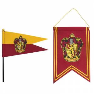 Harry Potter Gryffindor Banner  Flag Set