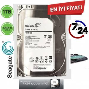3.5 1TB 7200RPM 64MB 7/24 PC HARDDİSK Seagate Barracuda